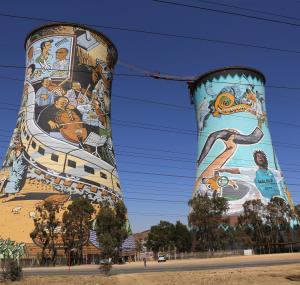 Orlando Power Station in Johannesburg