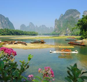 Bootjes in Guilin