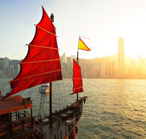 Drakenboot in Hong Kong