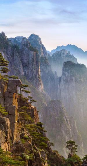 Yellow Mountain in Huangshan