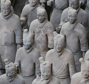 Chinees Terracottaleger