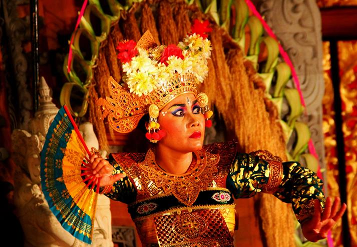 Danseres in Ubud