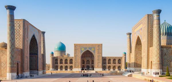 Registan plein in Samarkand