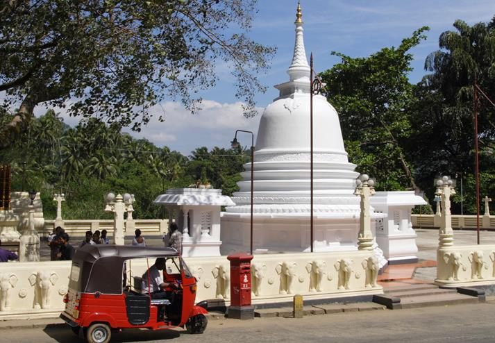 Tempel in Kandy