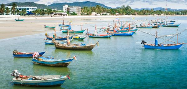 Bootjes in Hua Hin