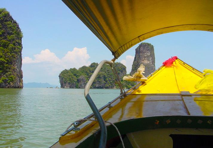 Phang Nga Bay boot in Phuket