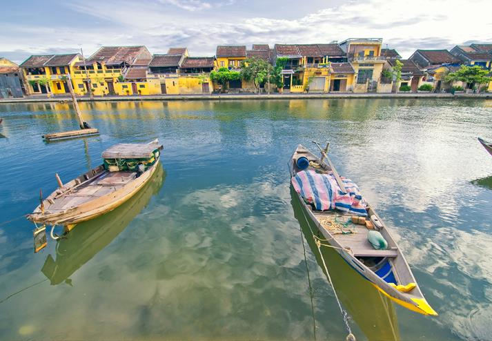Bootjes in Hoi An
