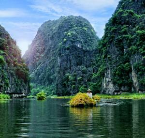 Boot in Tam Coc