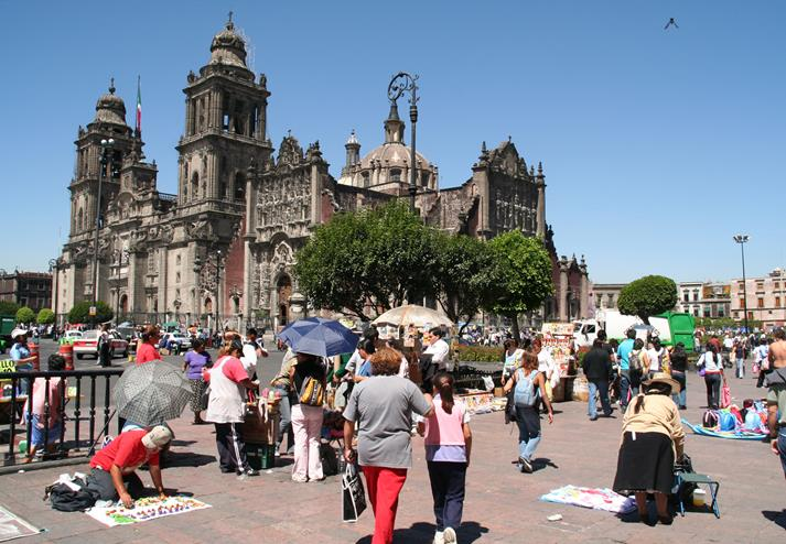 Kathedraal in Mexico-City