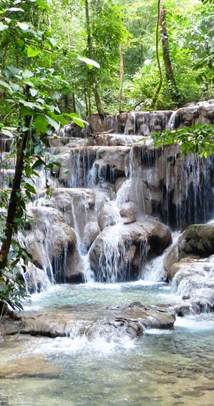 Watervallen in Palenque