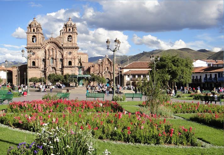 Kathedraal in Cusco