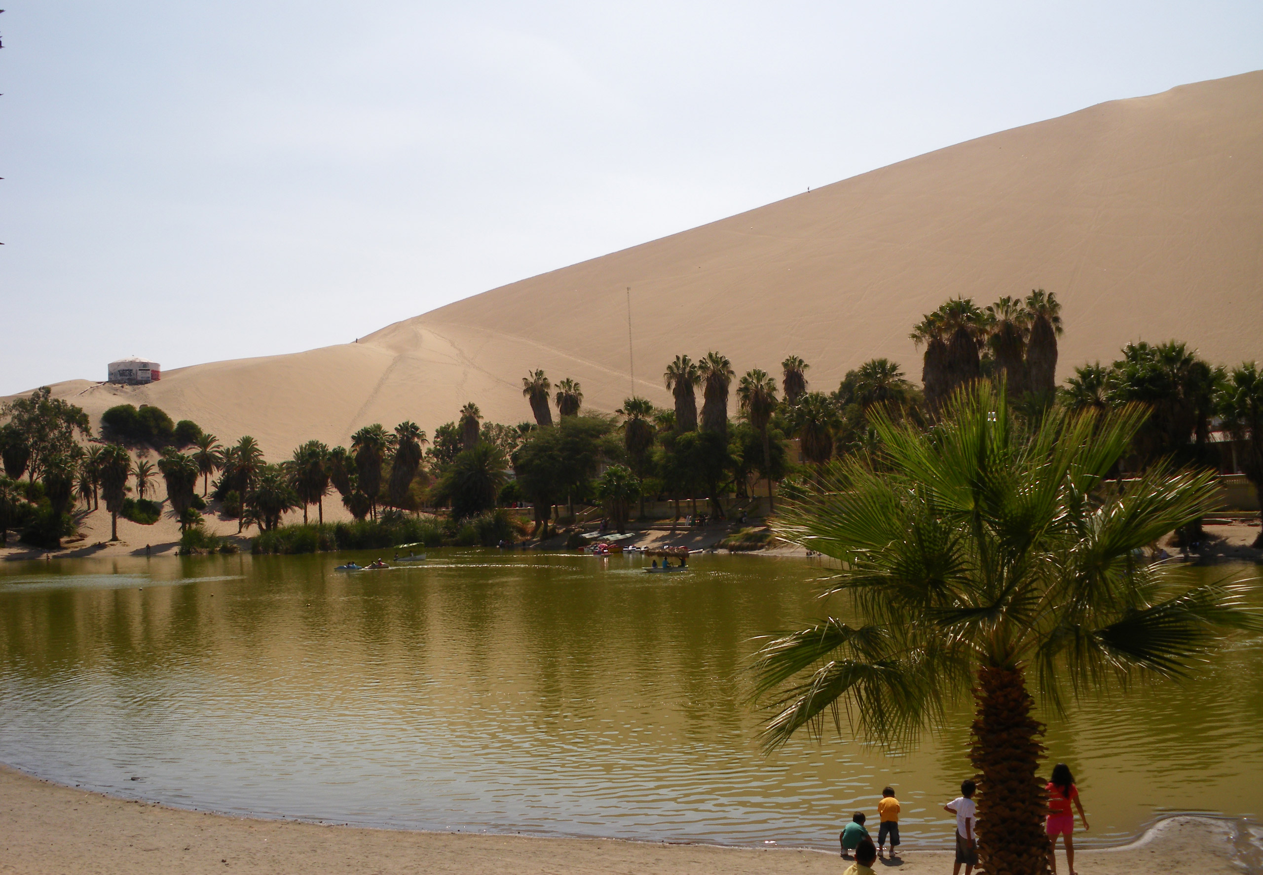 Huacachina Oase in Ica
