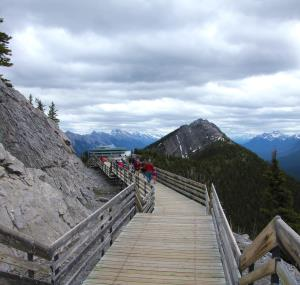 Boardwalk Sulpher Mountain, Banff