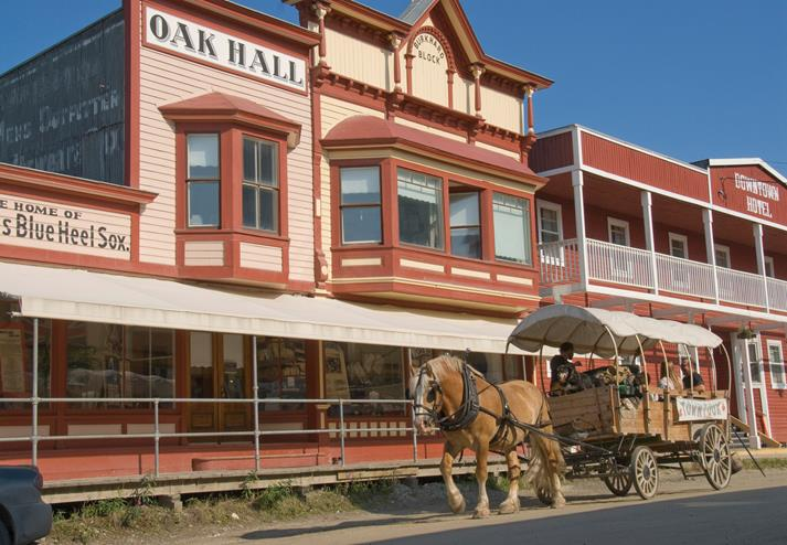 Oak Hall in Dawson City