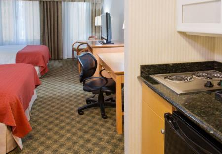 Holiday Inn & Suites Vancouver North kamer