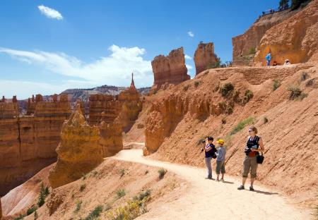 Walkingtrail Bryce Canyon