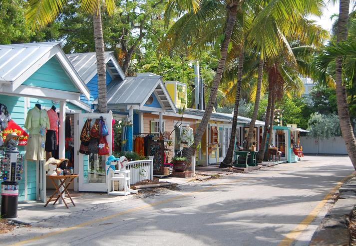 Winkeltjes in Key West
