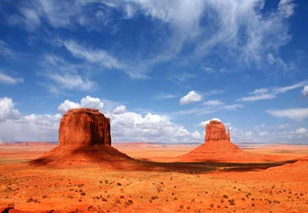 Uitzicht Monument Valley