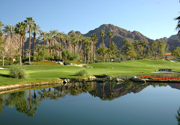 Golflandschap in Palm Springs