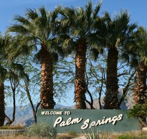 Welkomstbord Palm Springs
