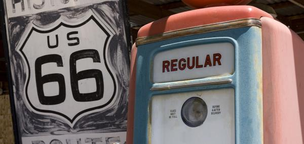 Route 66 tank