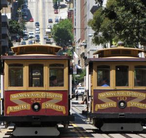Cablecars in San Francisco