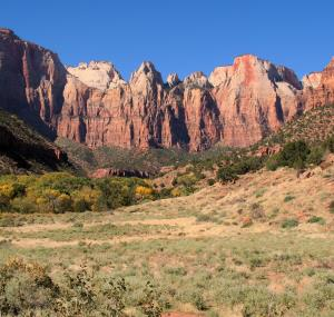 Zion National Park landschap