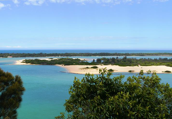 Gippsland Lakes in Lakes Entrance