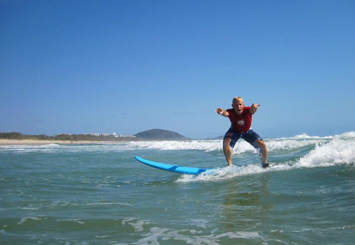 Surfen Sunshine Coast