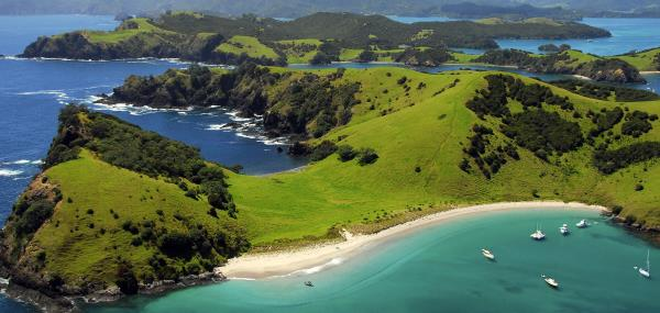 Uitzicht op Bay of Islands