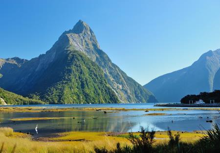 The Mitre Peak op Milford Sounds