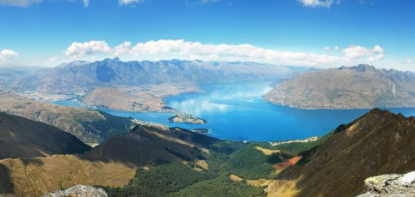 Wakatipumeer in Queenstown
