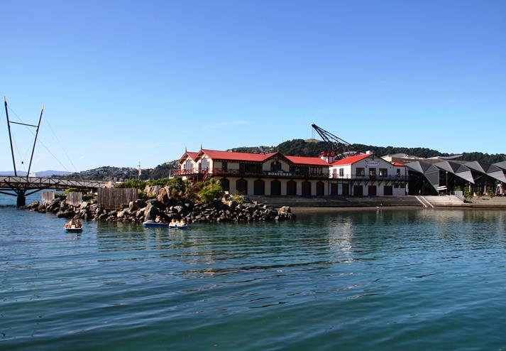Queens Wharf in Wellington