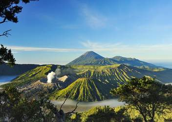 Bromo in Indonesië