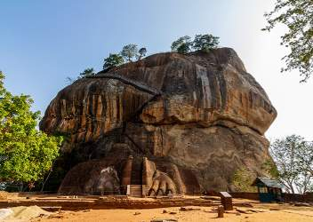 Lions Rock in Sigirya, Sri Lanka
