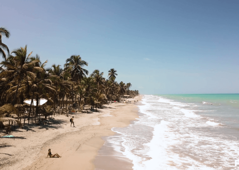 Strand in Colombia