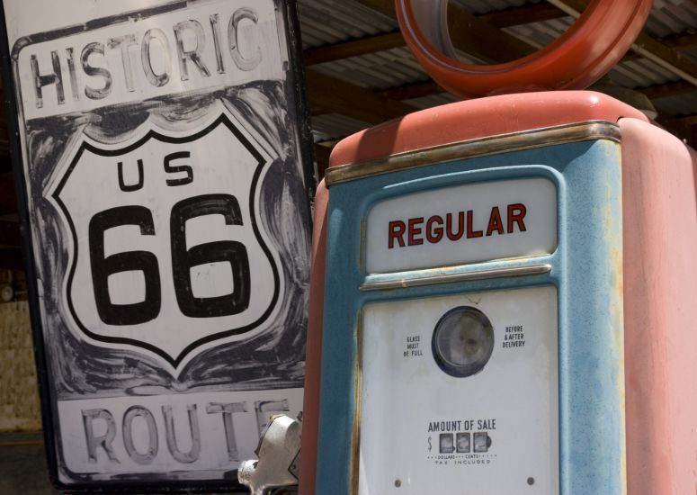 Historie langs Route 66