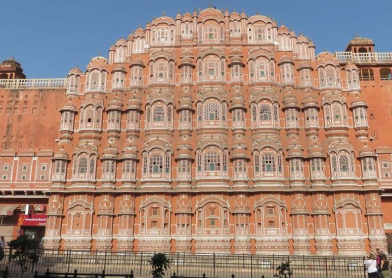 De roze stad Jaipur in India