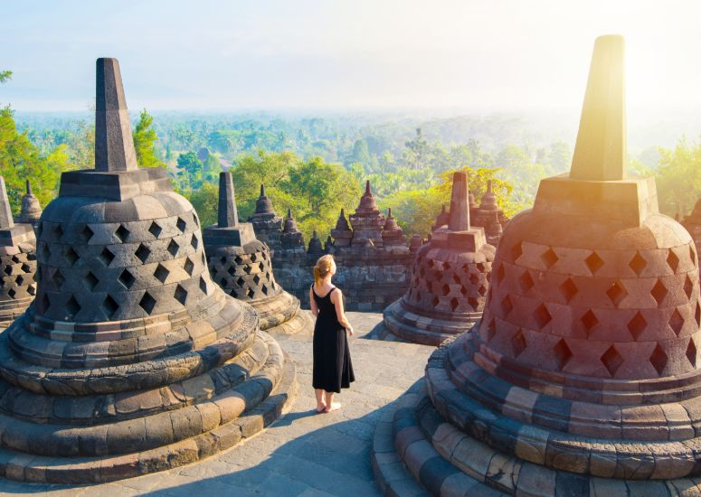 Borobudur, Java - Indonesië