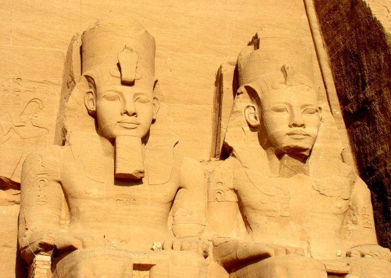 Abu Simbel in Egypte