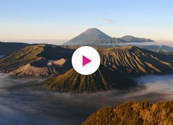 Bromo op Java in Indonesië