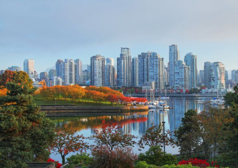Vancouver indian summer, Canada